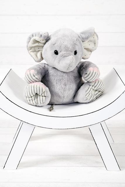 Elephant the mascot plush.