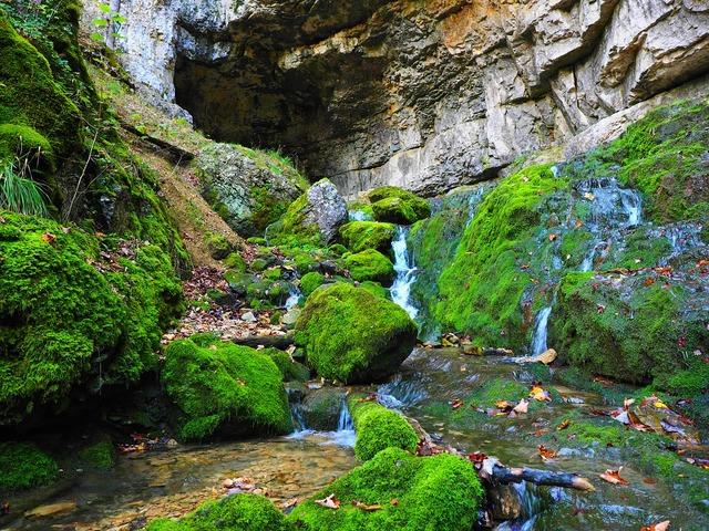 Elsach river falkensteiner cave.