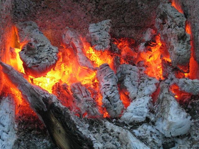Embers fire firebrand.