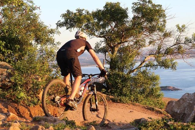 Enduro mtb moutain bike, travel vacation.