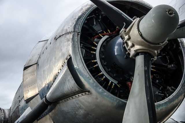 Engine aircraft dc-3.