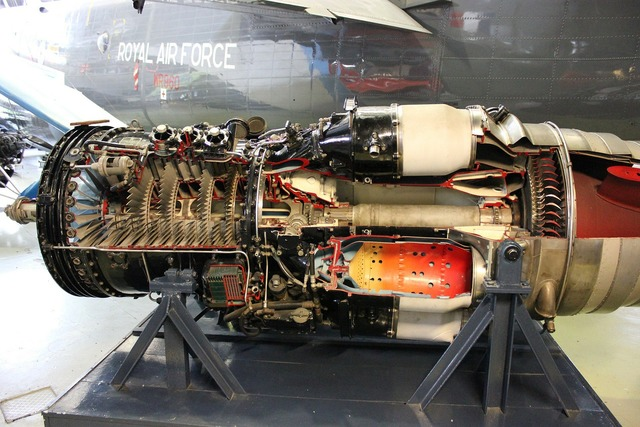 Engine jet internals.