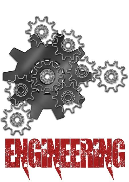 Engineering gears poster, backgrounds textures.