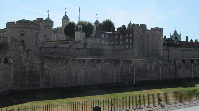 England castle tower, places monuments.
