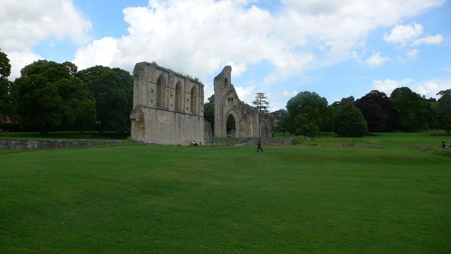 England glastonbury abbey somerset, places monuments.