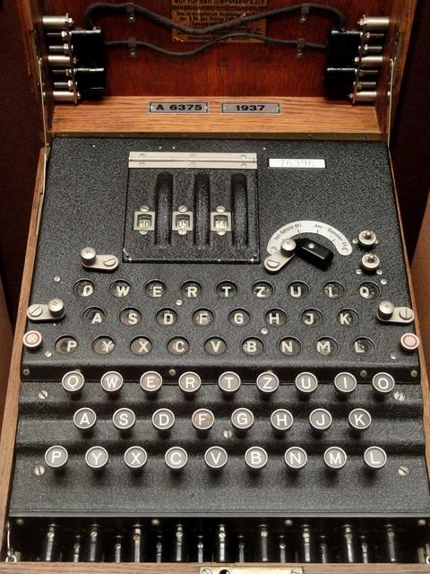 Enigma encryption cryptologic, science technology.