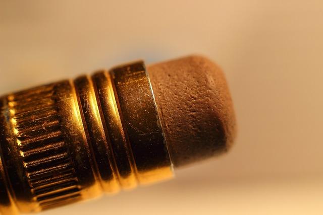 Eraser pencil macro.