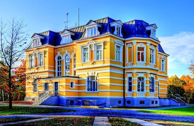Erckens villa architecture building, architecture buildings.