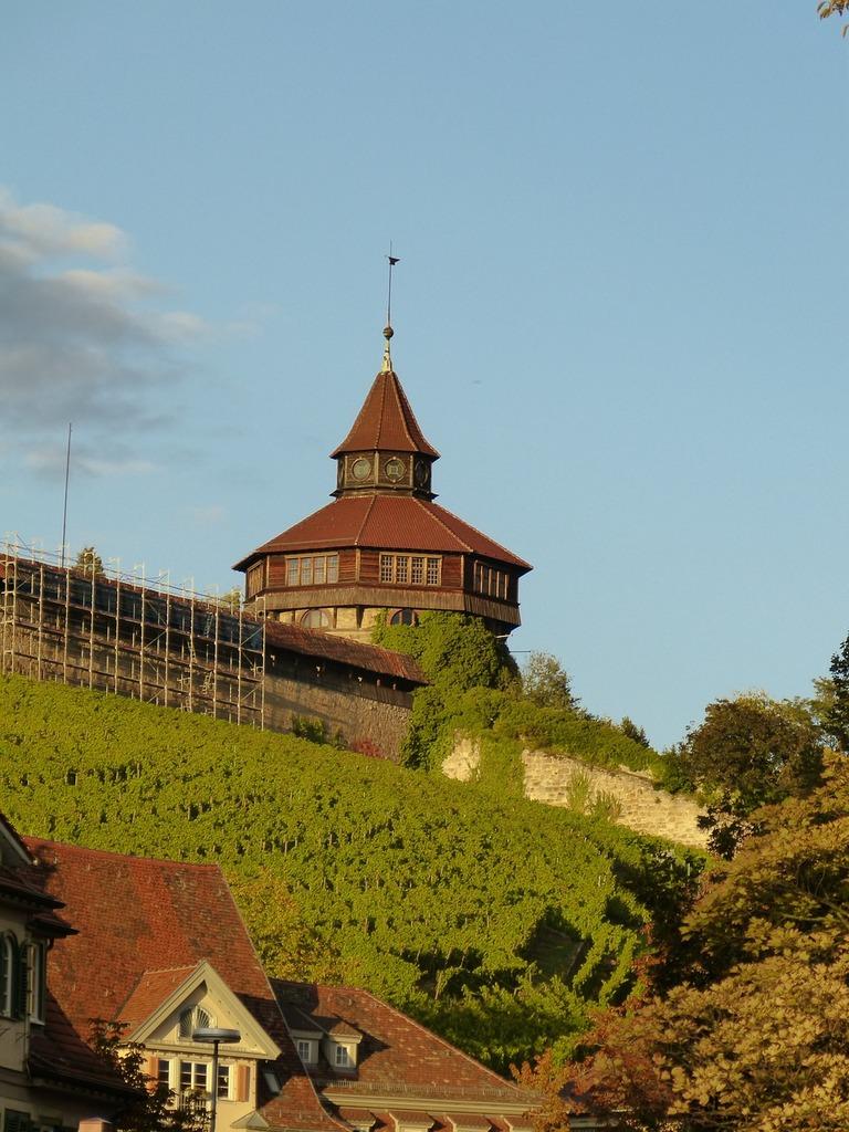 Esslingen castle castle wall.