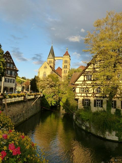 Esslingen church faith, religion.