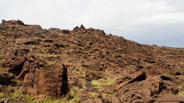 Etna lava slag.