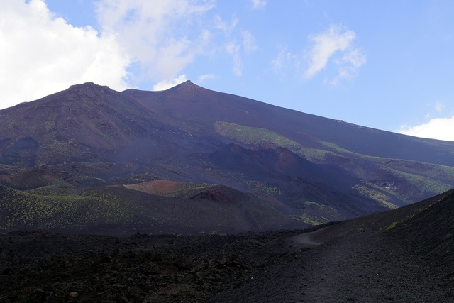 Etna volcano sicily.