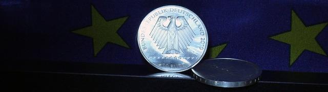Euro coin euro coin, business finance.