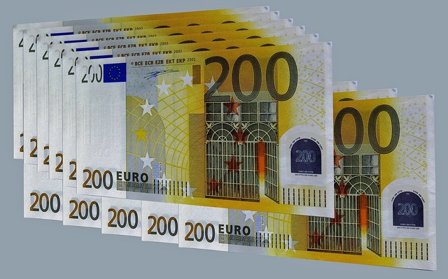 Euro euro bills europe, business finance.