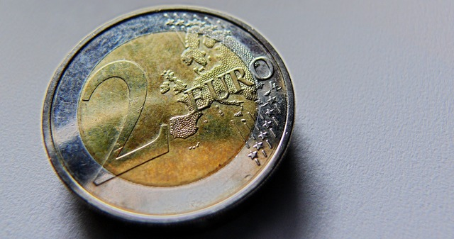 Euro euro coin europe, business finance.