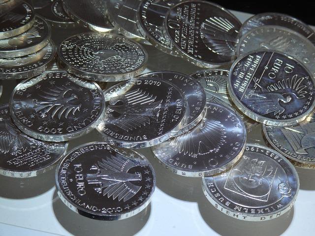 Euro euro coin money, business finance.