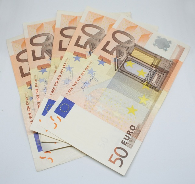 Euro money rich, business finance.