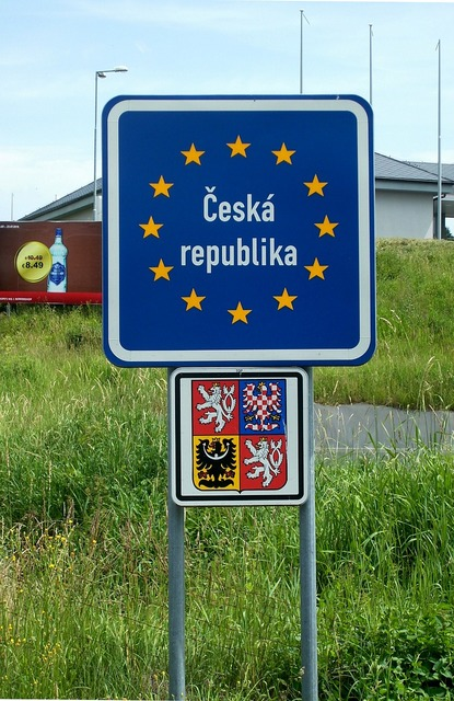 Europe border czech republic.