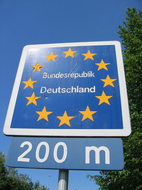 Europe border germany.