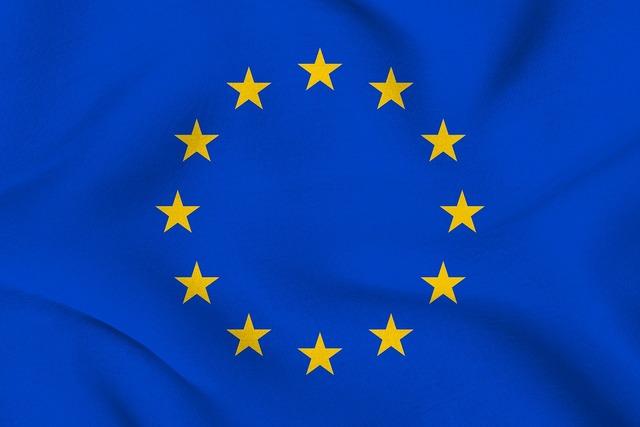 Europe flag eu.