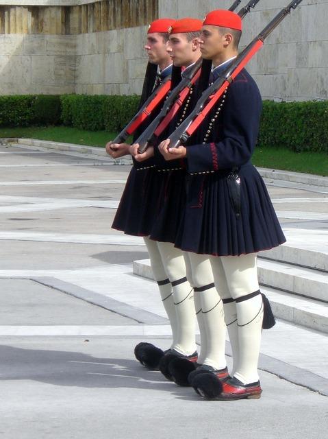 Euzonen athens parliament.