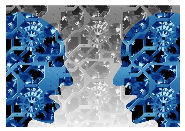 Exchange of ideas gear gears.