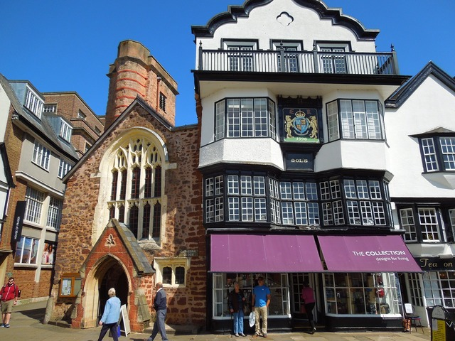 Exeter england uk, architecture buildings.