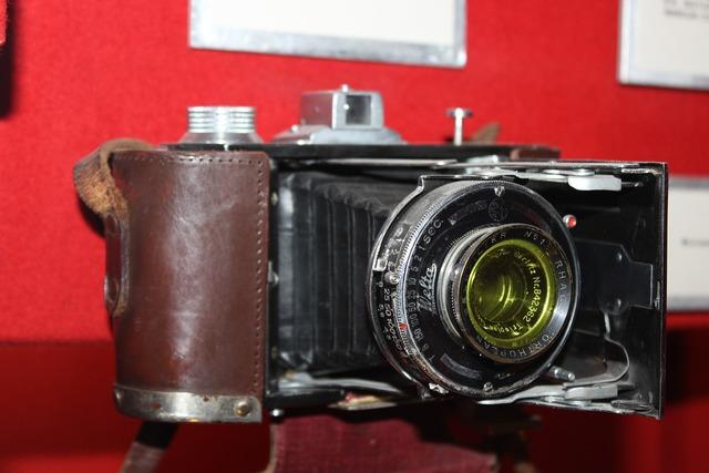 Exhibit old camera rarity.