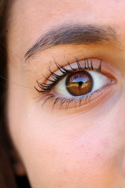Eye eyelashes eyebrows, beauty fashion.