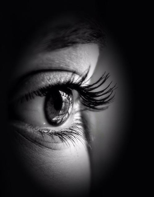 Eye pupil iris.