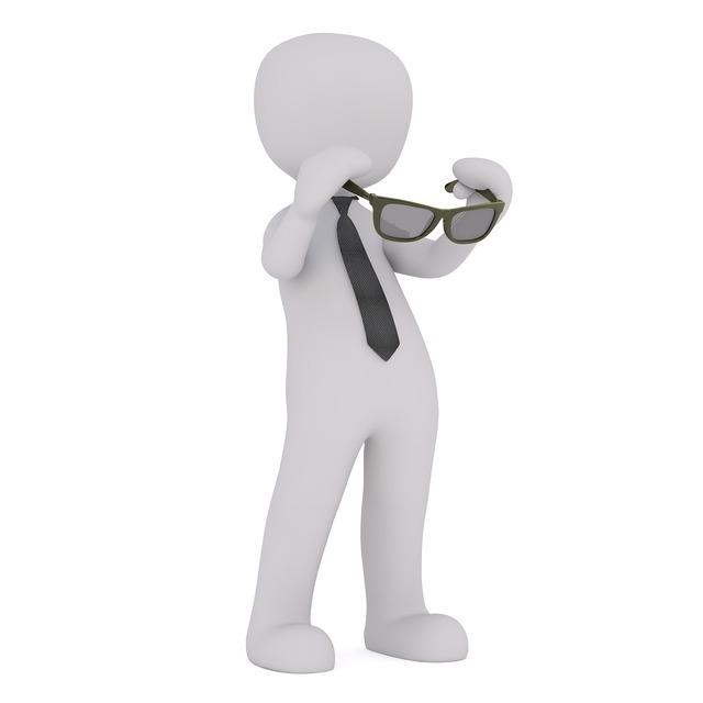 Eyeglass frame white male 3d model.