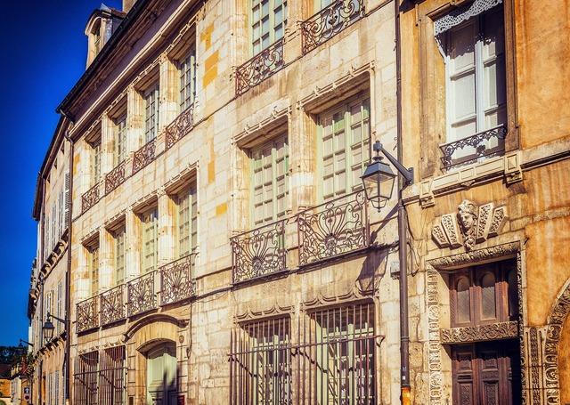 Facade architecture france, architecture buildings.