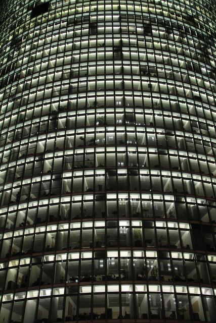Facade building big city, architecture buildings.