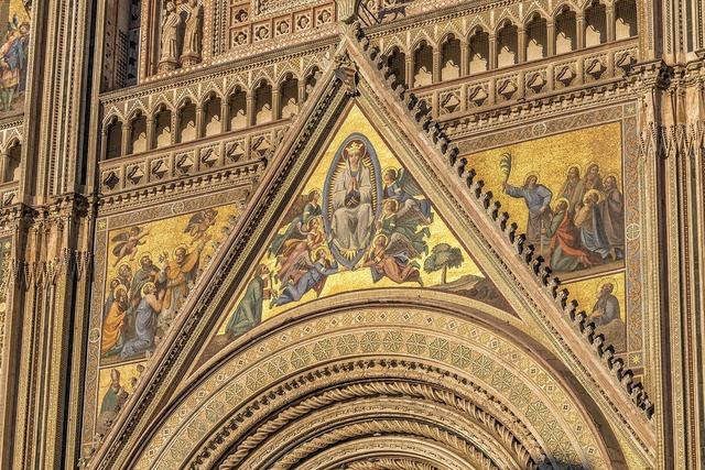 Facade dom cathedral, religion.