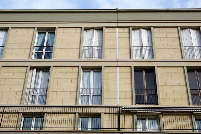 Facade home le havre, architecture buildings.
