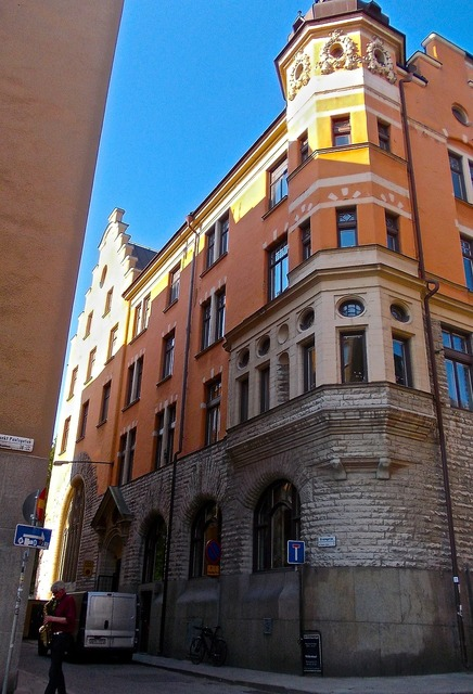 Facade mill street st paul street.