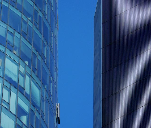 Facade skyscraper architecture, architecture buildings.