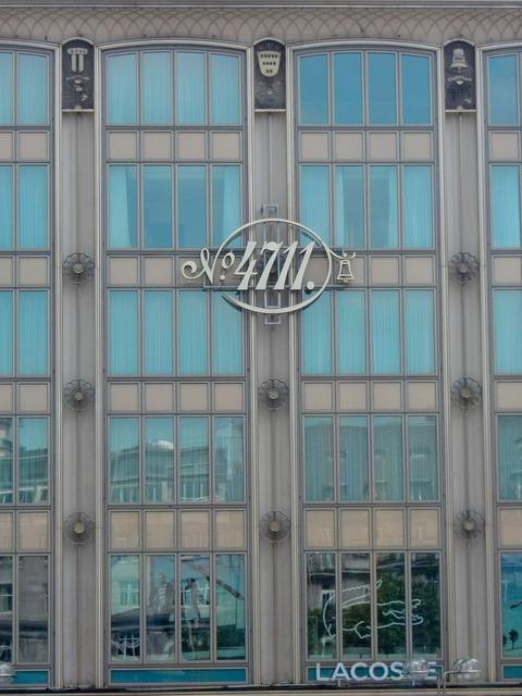 Facade window glass, architecture buildings.