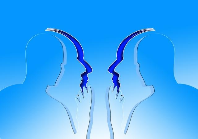 Face silhouette communication, computer communication.
