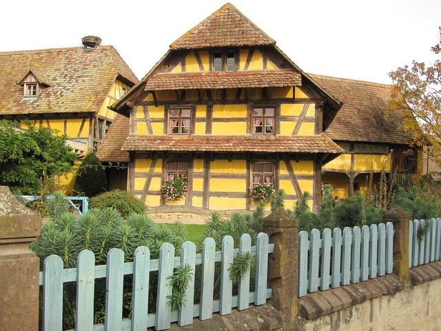 Fachwerkhaus farmhouse country house, architecture buildings.
