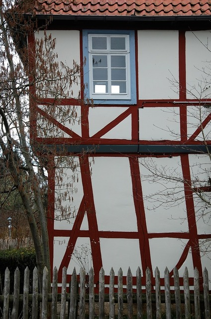 Fachwerkhaus home truss, architecture buildings.