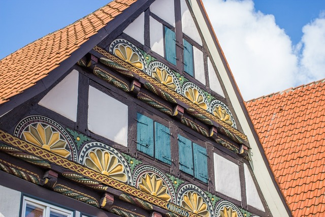 Fachwerkhaus lemgo facade, architecture buildings.