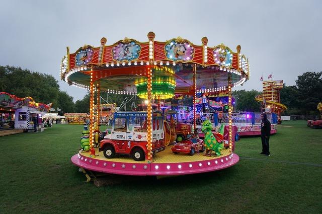 Fairground fair ride.
