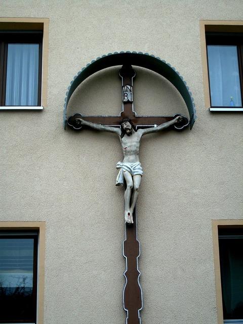 Faith church cross, religion.