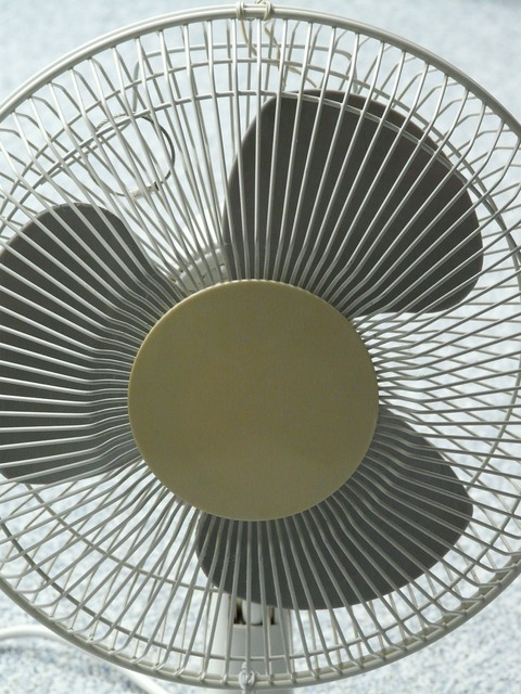 Fan blower air conditioning.