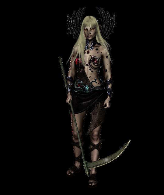 Fantasy female fantasy character.