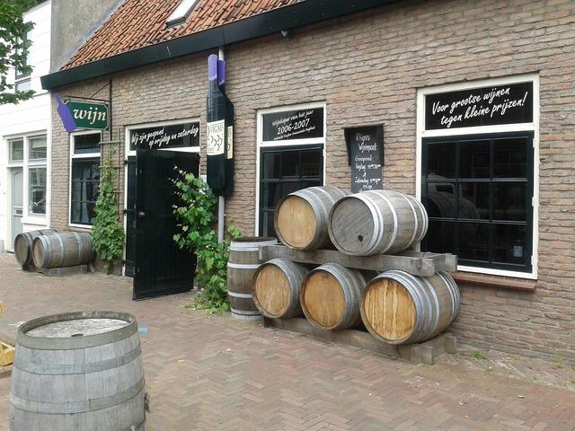 Farm wine vessels.