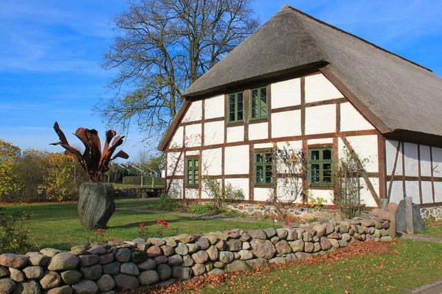 Farmhouse mecklenburg mecklenburg western pomerania, architecture buildings.