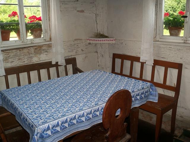 Farmhouse table chair.