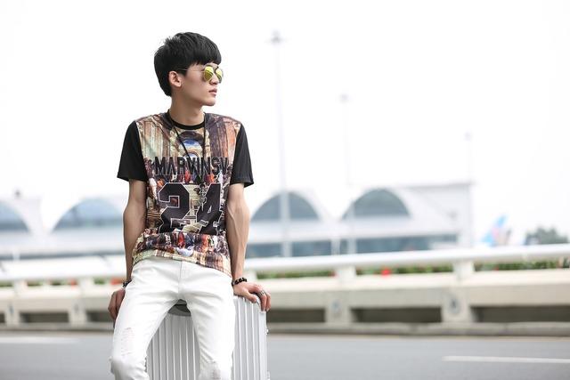 Fashion young individuality, beauty fashion.